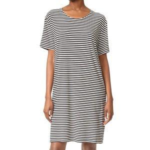 NORMA KAMALI Short Sleeve Boxy Dress